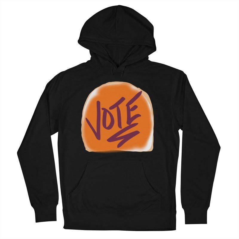 Peanut Butter and Vote... Men's Pullover Hoody by blinkkittylove's Artist Shop