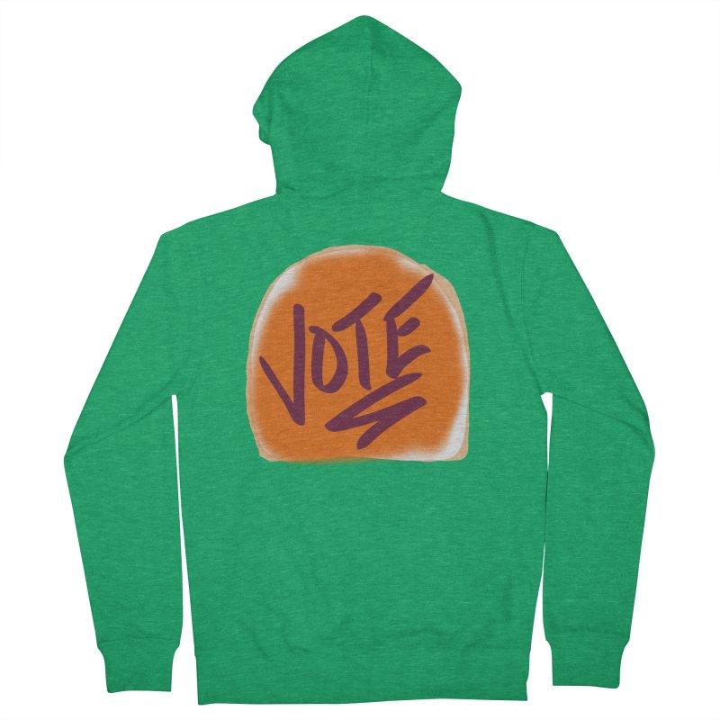 Peanut Butter and Vote... Women's Zip-Up Hoody by blinkkittylove's Artist Shop