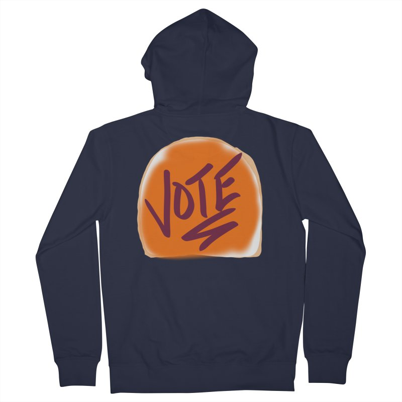 Peanut Butter and Vote... Women's Zip-Up Hoody by blinkkittylove's Artist Shop