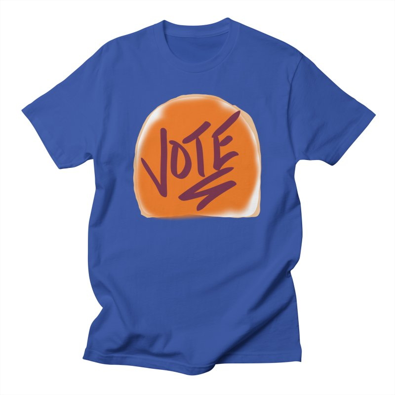 Peanut Butter and Vote... Men's T-shirt by blinkkittylove's Artist Shop