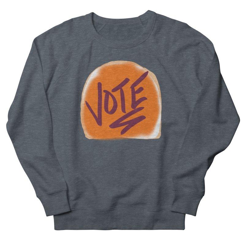 Peanut Butter and Vote... Men's Sweatshirt by blinkkittylove's Artist Shop