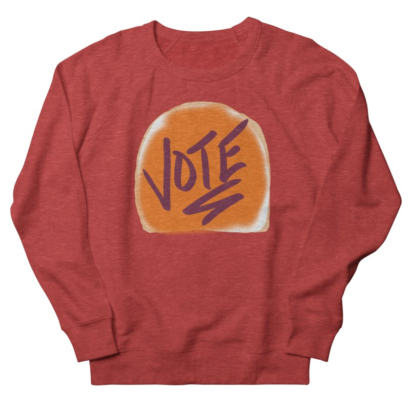 Peanut Butter and Vote... Men's Sweatshirt by blinkkittylove's Artist Shop