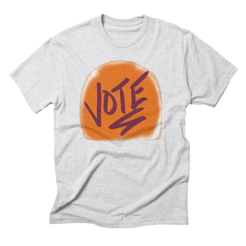 Peanut Butter and Vote... Men's Triblend T-Shirt by blinkkittylove's Artist Shop