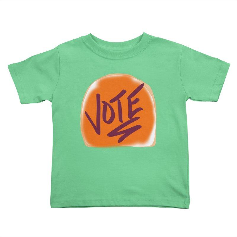 Peanut Butter and Vote... Kids Toddler T-Shirt by blinkkittylove's Artist Shop