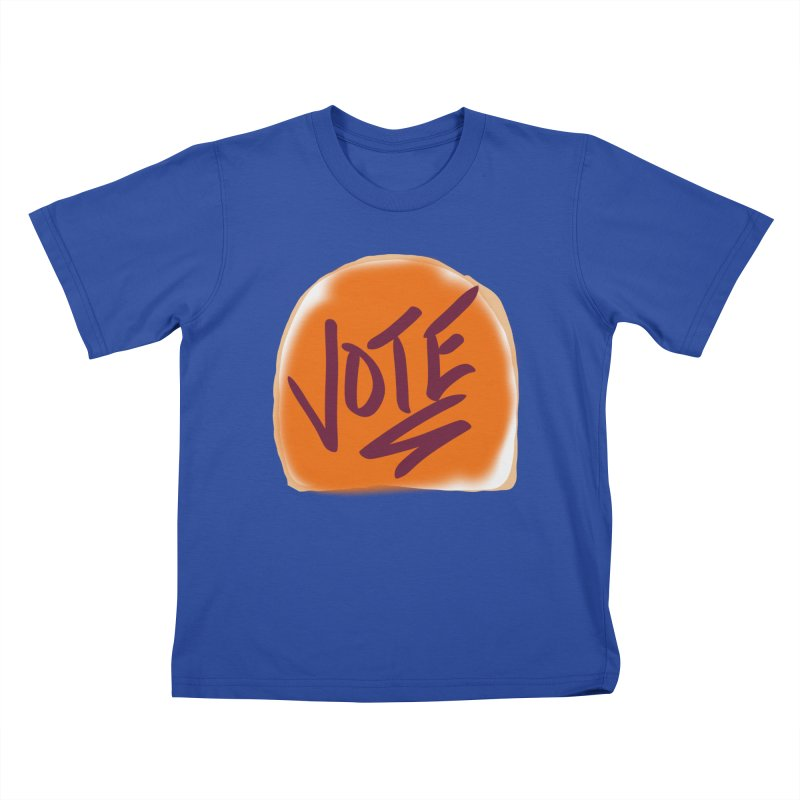 Peanut Butter and Vote... Kids T-shirt by blinkkittylove's Artist Shop