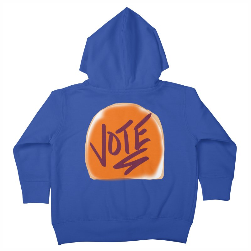 Peanut Butter and Vote... Kids Toddler Zip-Up Hoody by blinkkittylove's Artist Shop