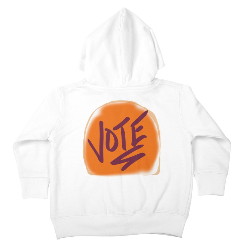 Peanut Butter and Vote... Kids Toddler Zip-Up Hoody by blinkkittylove's Artist Shop