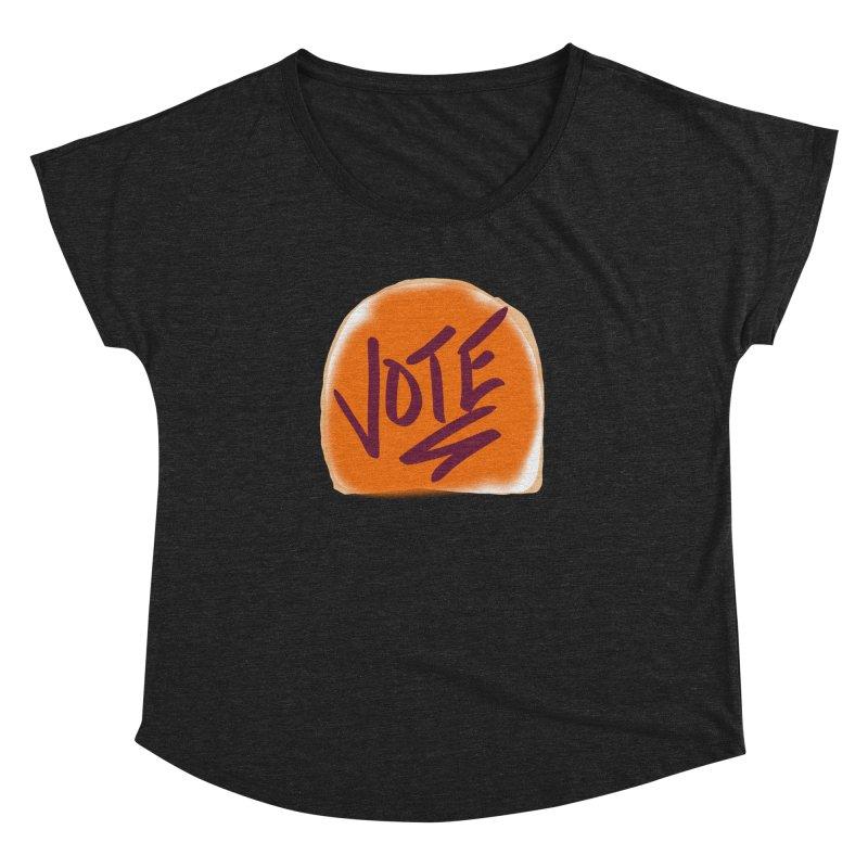 Peanut Butter and Vote... Women's Dolman by blinkkittylove's Artist Shop