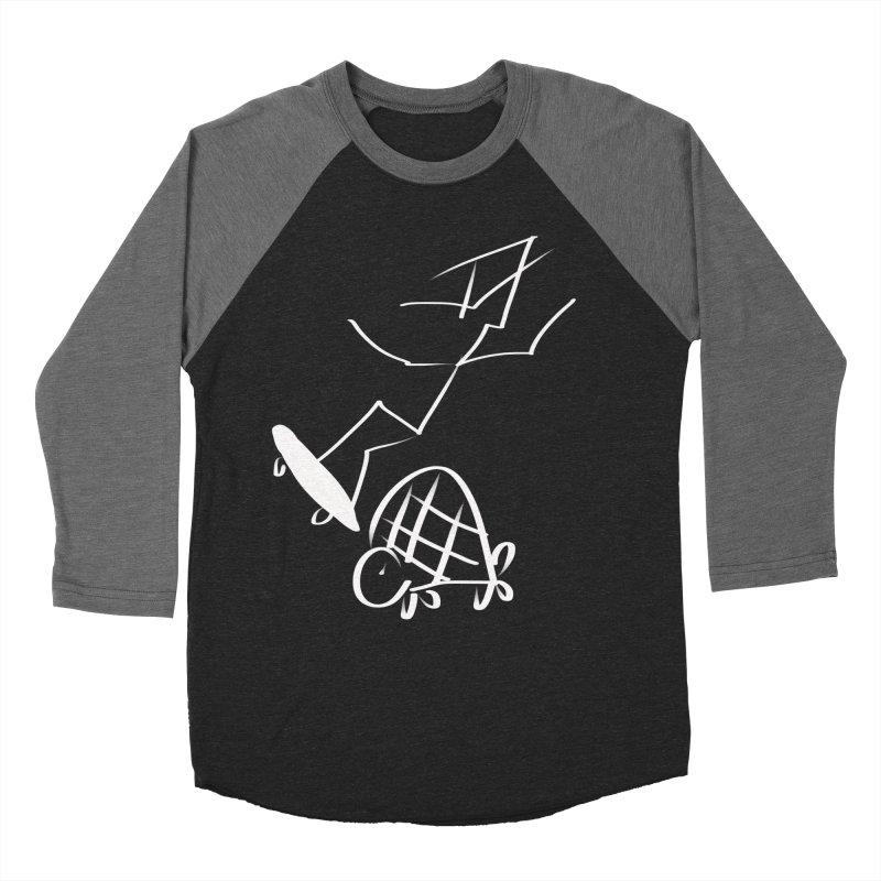 Attitude Women's Baseball Triblend T-Shirt by blinkkittylove's Artist Shop