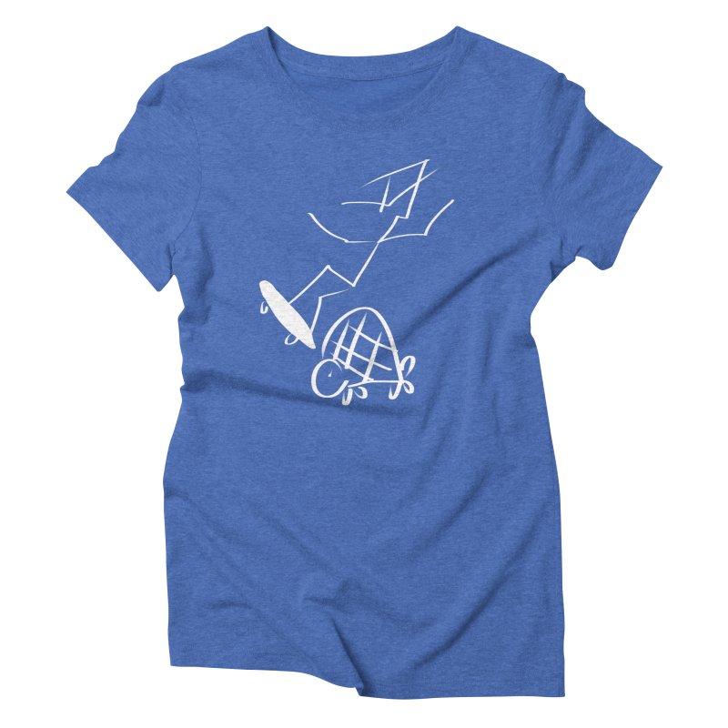 Attitude Women's Triblend T-Shirt by blinkkittylove's Artist Shop