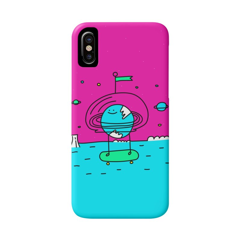 Surreal Planet - Mr Beaker Accessories Phone Case by Porky Roebuck