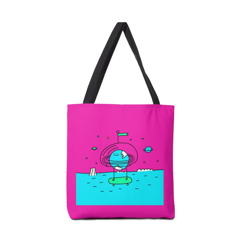 Surreal Planet - Mr Beaker Accessories Bag by Porky Roebuck