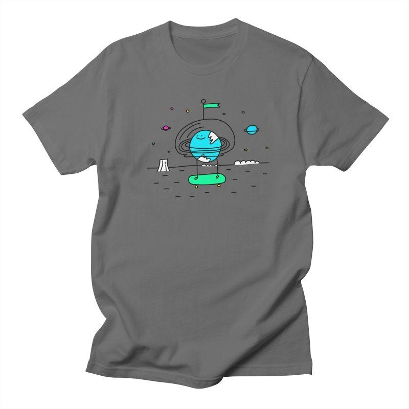 Surreal Planet - Mr Beaker Men's T-shirt by Porky Roebuck