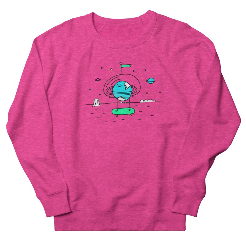 Surreal Planet - Mr Beaker Women's Sweatshirt by Porky Roebuck