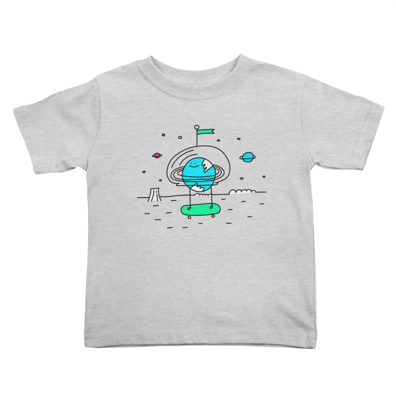 Surreal Planet - Mr Beaker Kids Toddler T-Shirt by Porky Roebuck