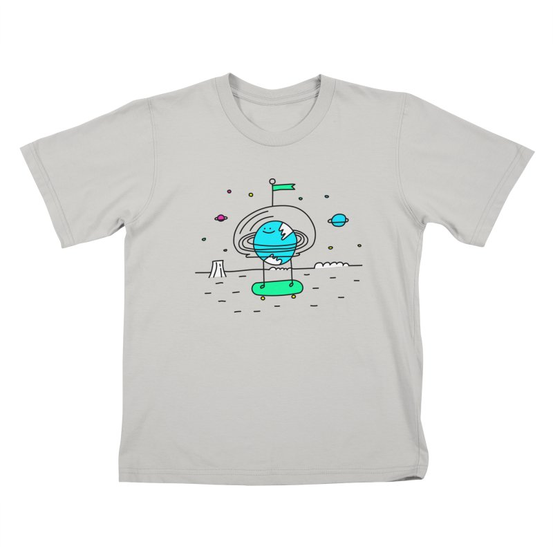 Surreal Planet - Mr Beaker Kids T-shirt by Porky Roebuck