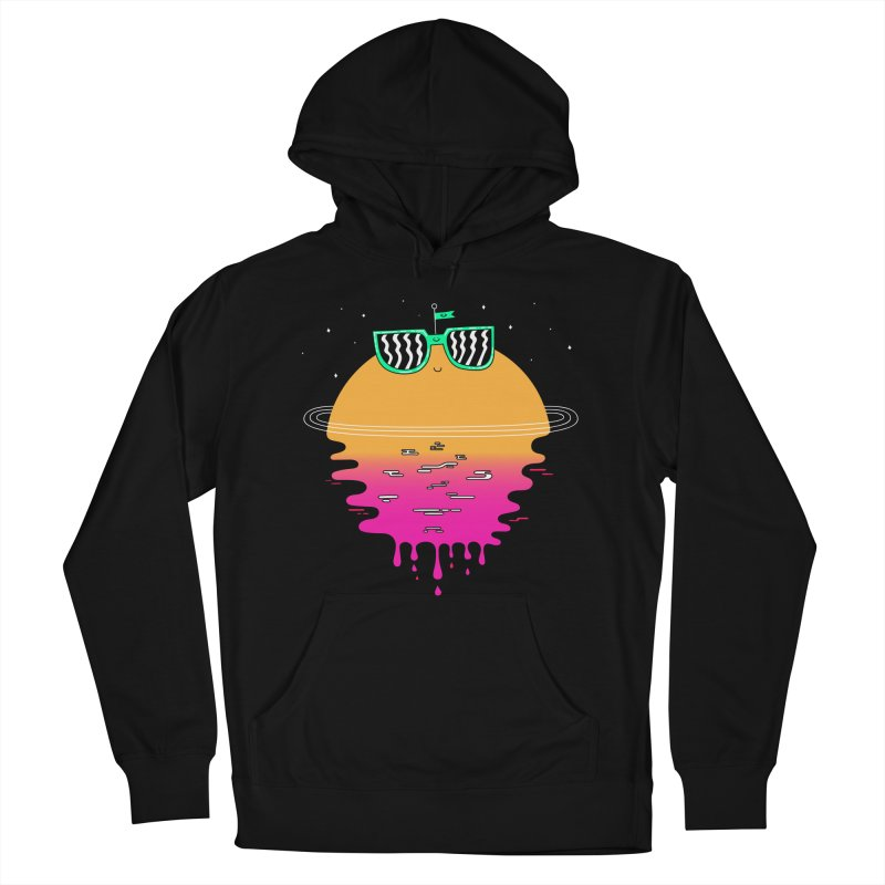 Happy Sunset Men's Pullover Hoody by Porky Roebuck