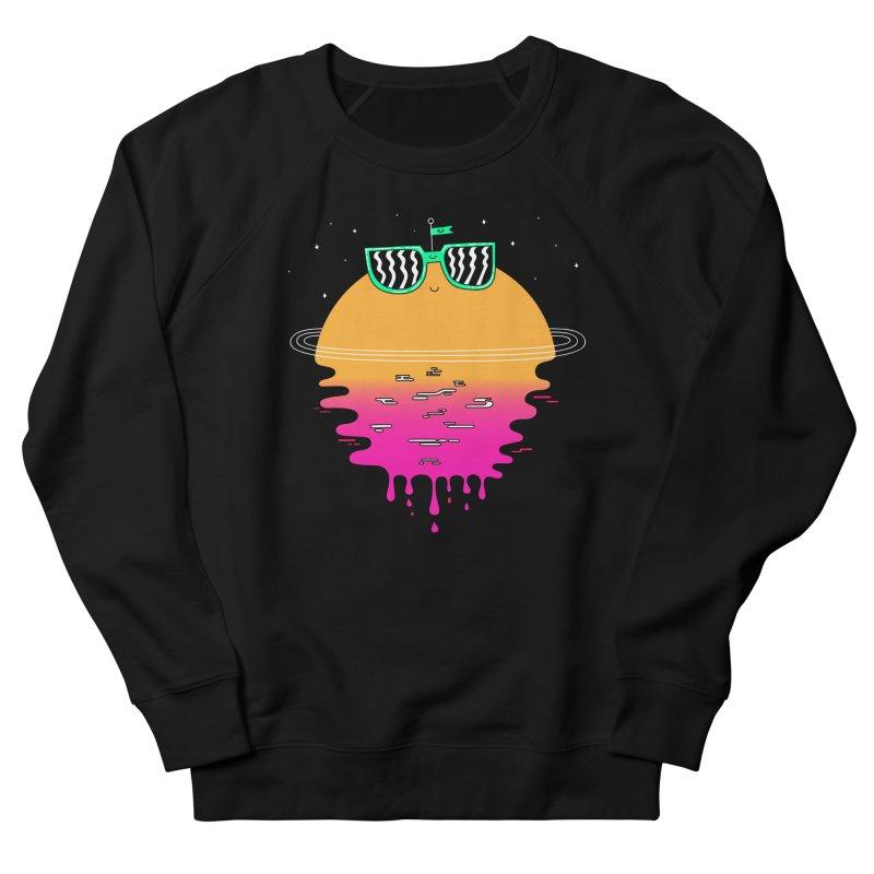 Happy Sunset Men's Sweatshirt by Porky Roebuck