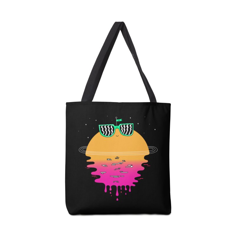 Happy Sunset Accessories Bag by Porky Roebuck