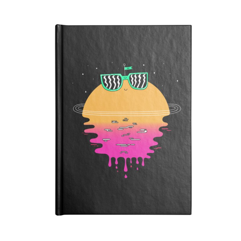 Happy Sunset Accessories Notebook by Porky Roebuck