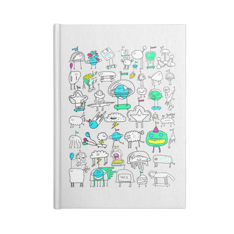 Happy Creatures Accessories Notebook by Porky Roebuck