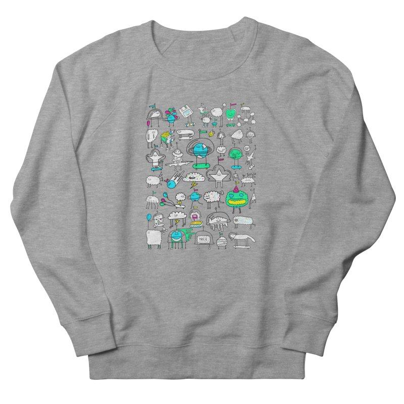 Happy Creatures Men's Sweatshirt by Porky Roebuck