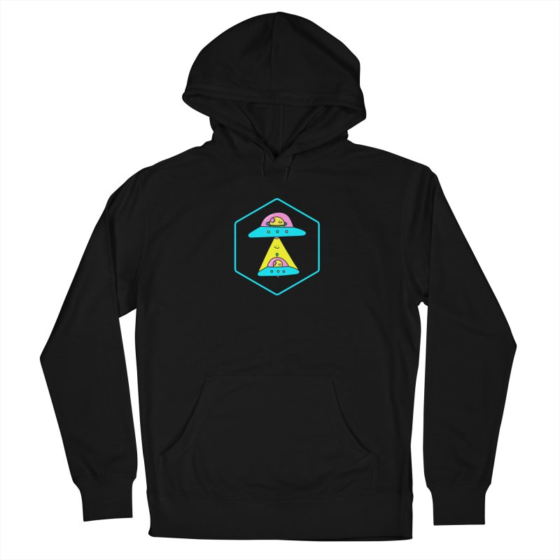 UFO Time Men's Pullover Hoody by Porky Roebuck