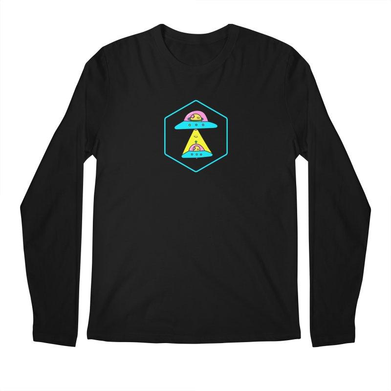UFO Time Men's Longsleeve T-Shirt by Porky Roebuck