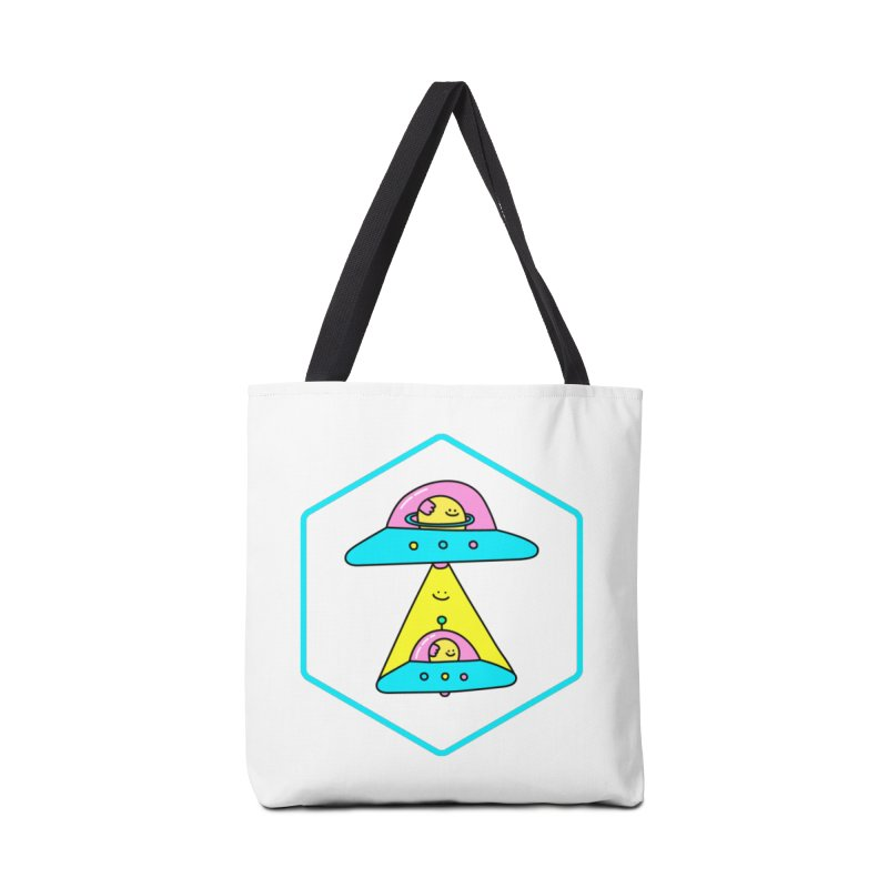 UFO Time Accessories Bag by Porky Roebuck