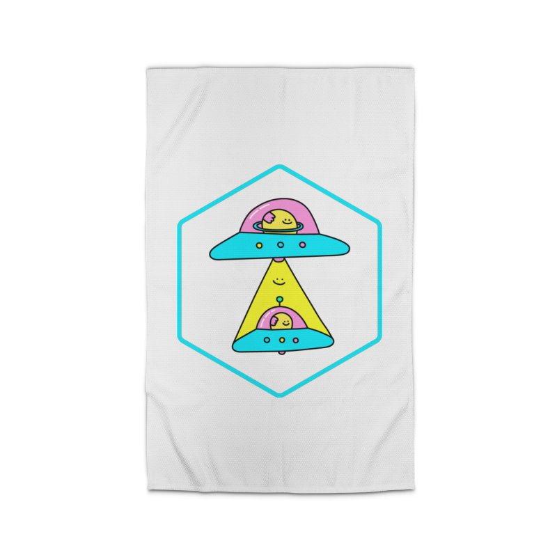UFO Time Home Rug by Porky Roebuck