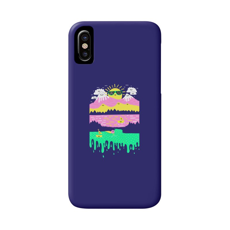 Happy Lake Accessories Phone Case by Porky Roebuck