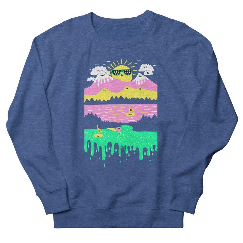 Happy Lake Women's Sweatshirt by Porky Roebuck