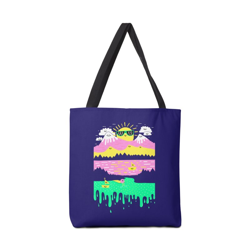 Happy Lake Accessories Bag by Porky Roebuck