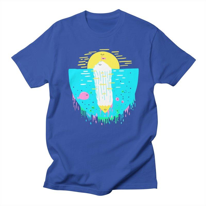 Happy Iceberg Women's Unisex T-Shirt by Porky Roebuck