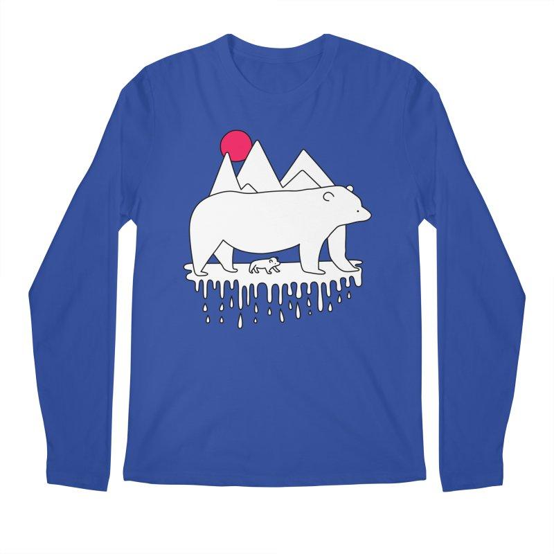 Polar Bear Family Men's Longsleeve T-Shirt by Porky Roebuck