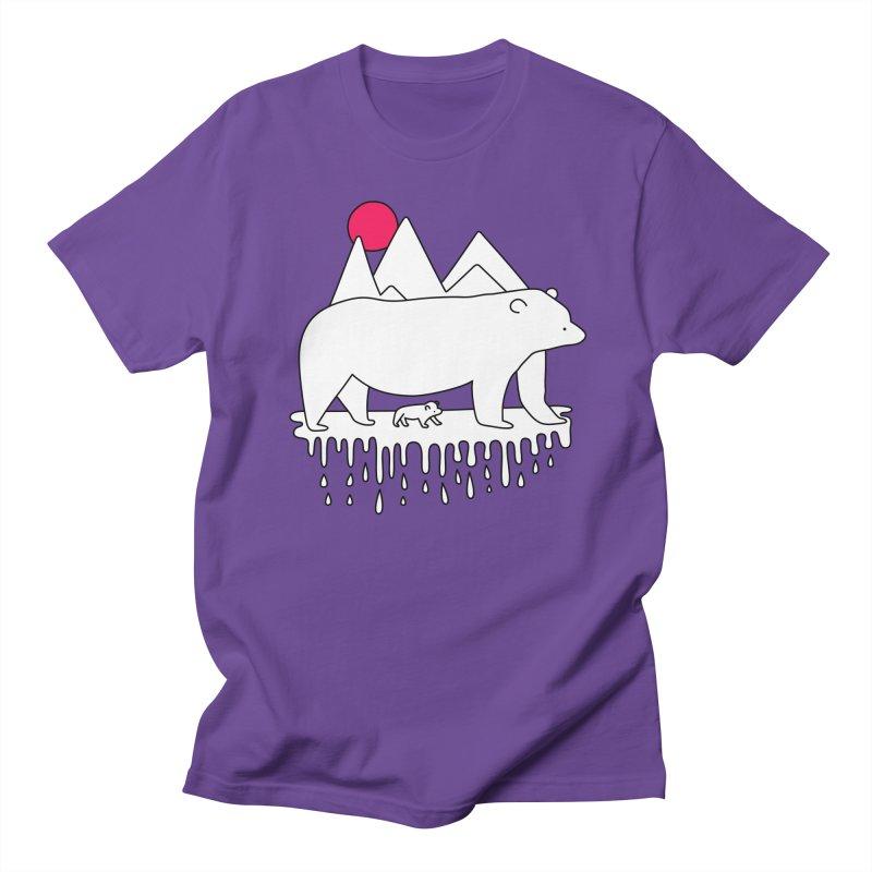 Polar Bear Family Women's Unisex T-Shirt by Porky Roebuck