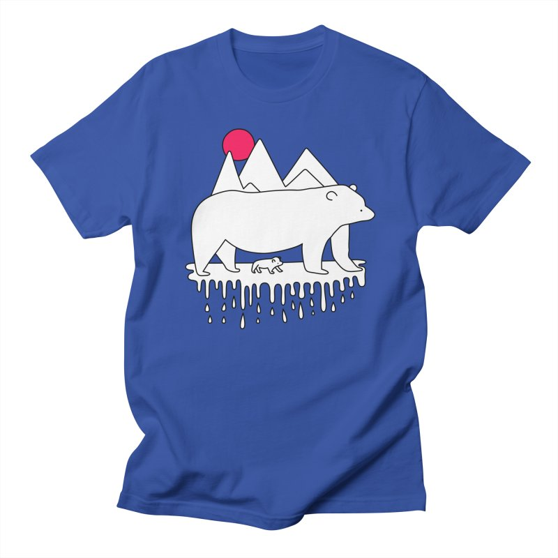 Polar Bear Family Women's Unisex T-Shirt by Porky Roebuck