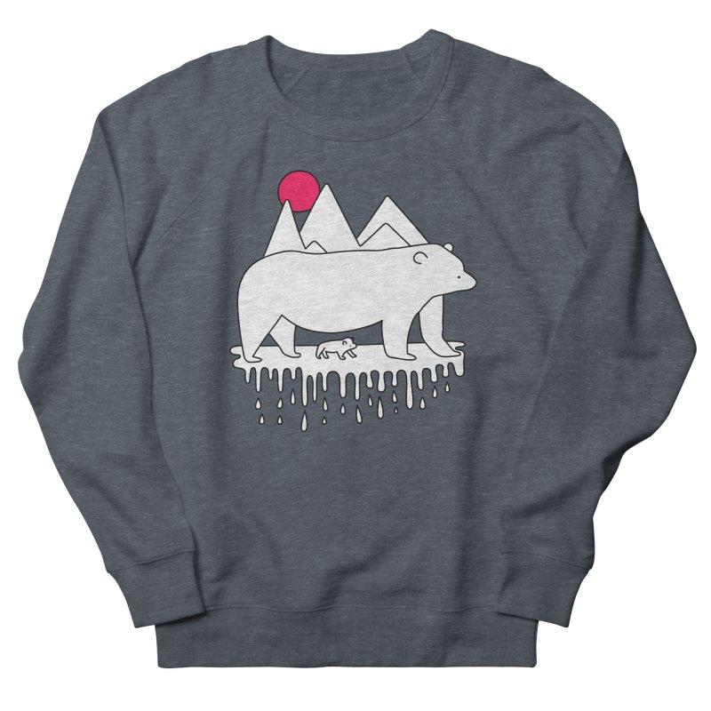 Polar Bear Family Women's Sweatshirt by Porky Roebuck