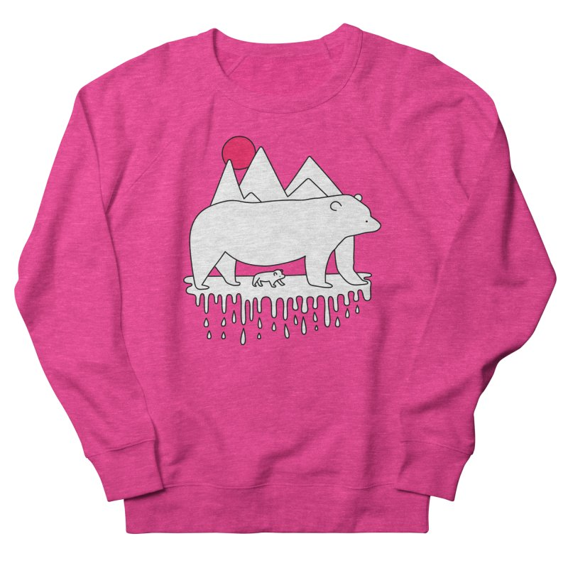 Polar Bear Family Women's Sweatshirt by Porky Roebuck