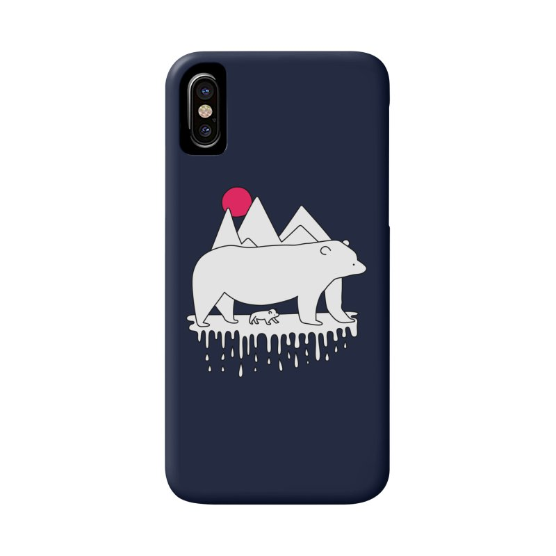 Polar Bear Family Accessories Phone Case by Porky Roebuck