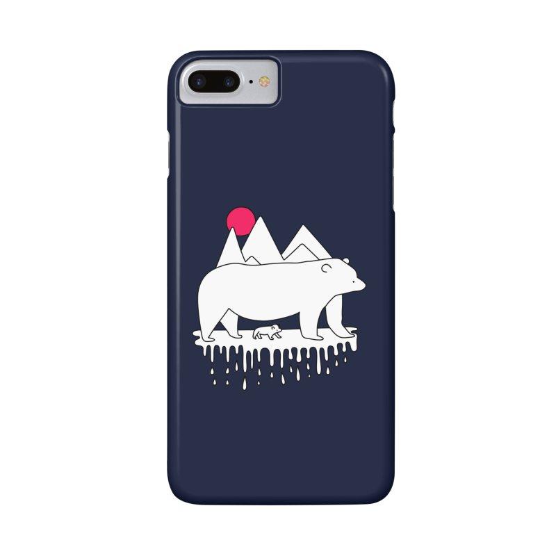 Polar Bear Family Accessories Phone Case by Porky Roebuck