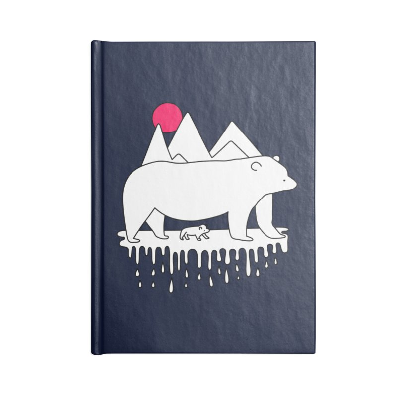 Polar Bear Family Accessories Notebook by Porky Roebuck