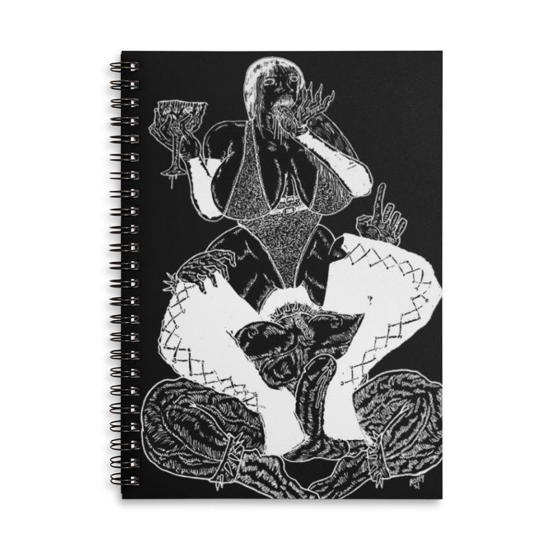 Blackout Demoness Accessories Notebook by blixdesign