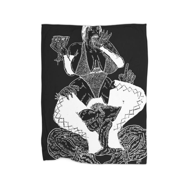 Blackout Demoness Home Blanket by blixdesign