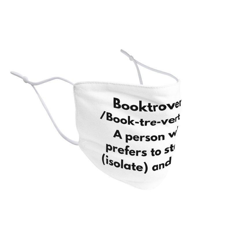 Booktrovert Accessories Face Mask by Blknbkish Artist Shop