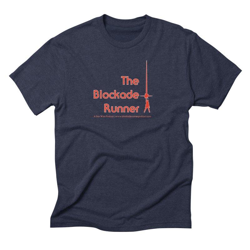 Blockade Runner Podcast Logo Men's Triblend T-Shirt by The Blockade Runner Podcast's Artist Shop