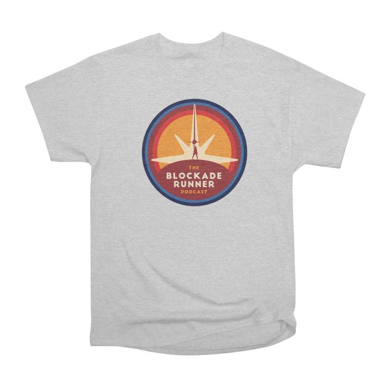 Blockade Runner Logo 2019 Women's Heavyweight Unisex T-Shirt by The Blockade Runner Podcast's Artist Shop