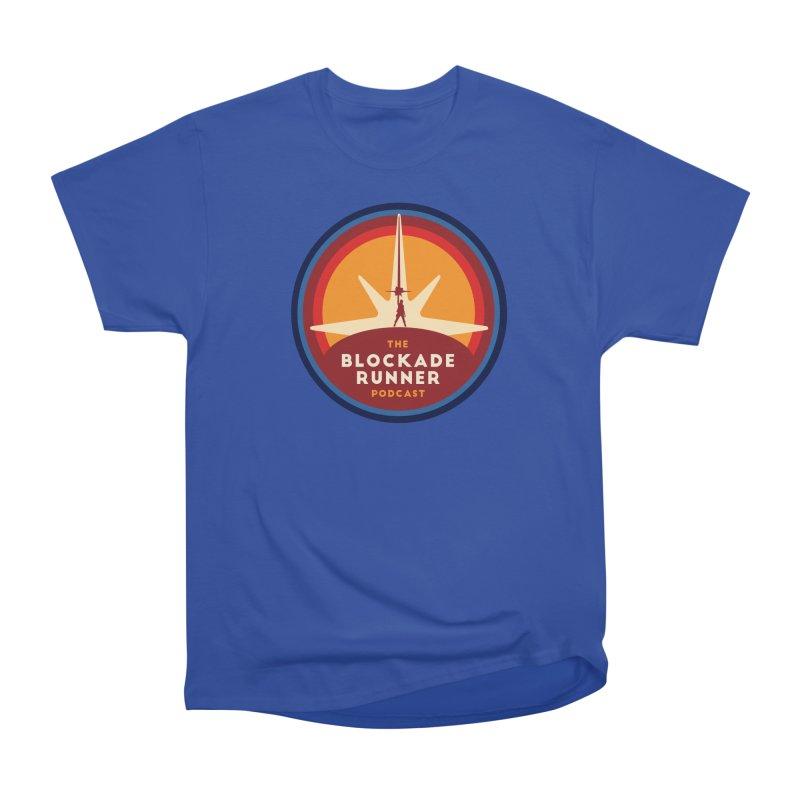 Blockade Runner Logo 2019 Men's Heavyweight T-Shirt by The Blockade Runner Podcast's Artist Shop