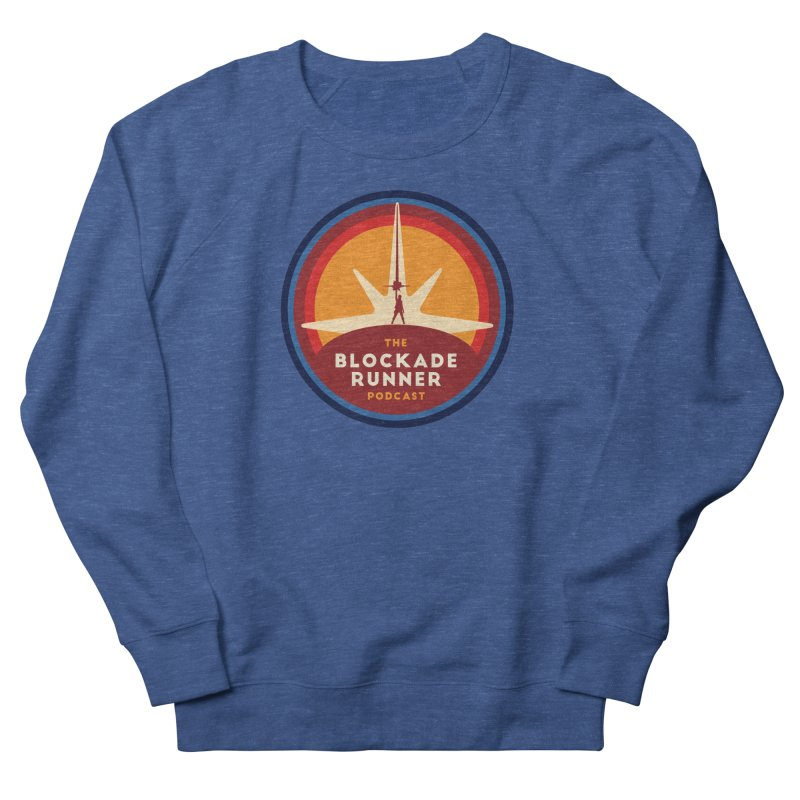 Blockade Runner Logo 2019 Women's French Terry Sweatshirt by The Blockade Runner Podcast's Artist Shop