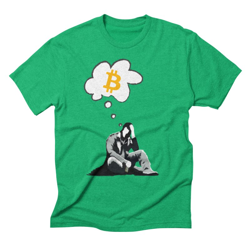 Late to the Party Men's Triblend T-shirt by blockchainart - artoshi's Shop